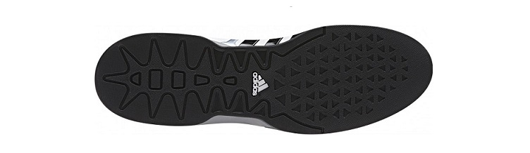 Sole of the Adidas Adipower