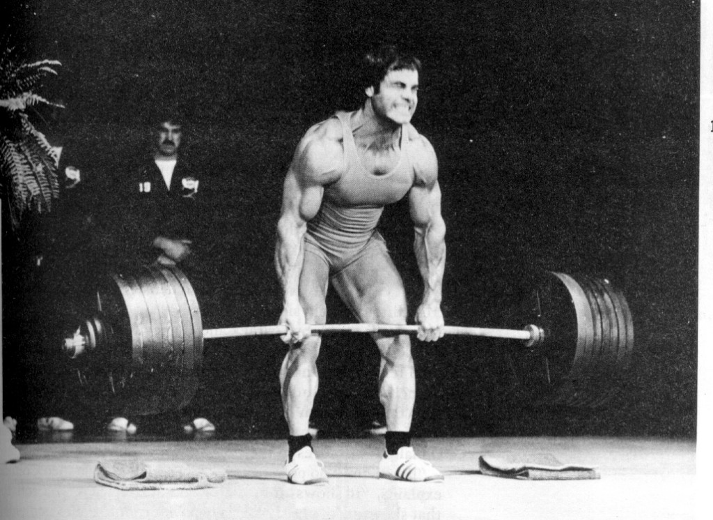 Deadlift or squat? Deadlift, obviously.