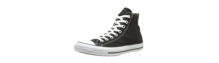 Chuck Taylors - Note the best deadlift shoes out there