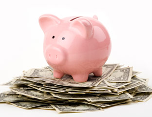 You don't have to break the piggy bank!